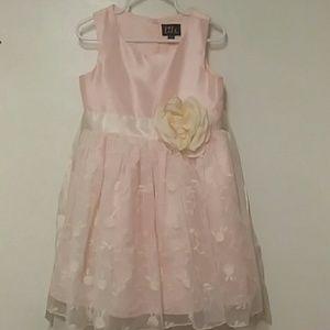 Dress w/ Flower Detail